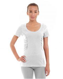 Juliana Short-Sleeve Tee-S-White