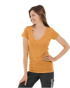 Diva Gym Tee-S-Orange