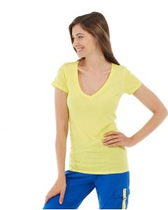 Diva Gym Tee-S-Yellow